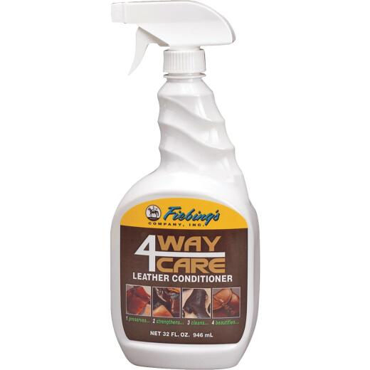 Fiebing's 4-Way 32 Oz. Trigger Spray Leather Care