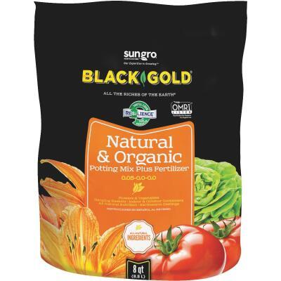 Black Gold 8 Qt. 8 Lb. All Purpose Natural & Organic Potting Soil