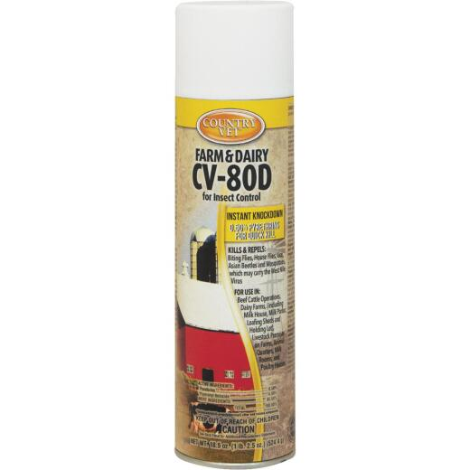 Country Vet CV-80D 18.5 Oz. Aerosol Fly Spray