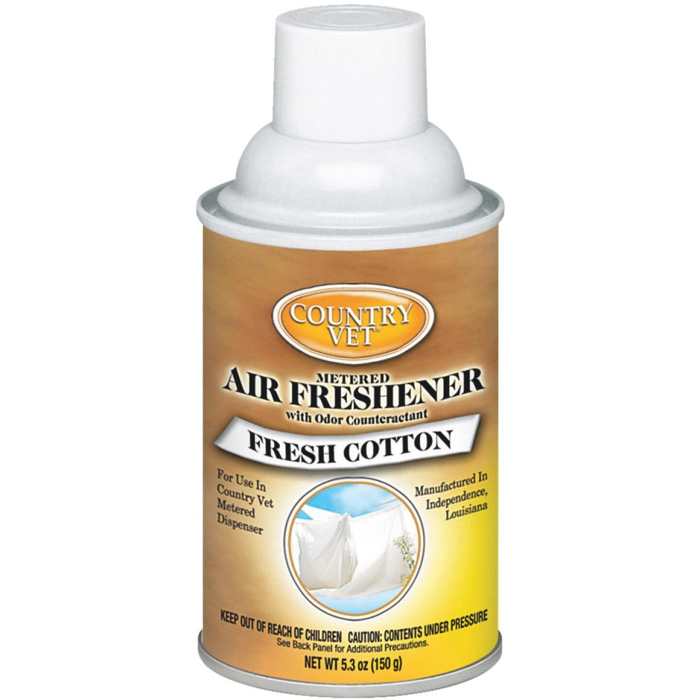 Country Vet 6.6 Oz. Fresh Cotton Fragrance Metered Spray Refill Image 1