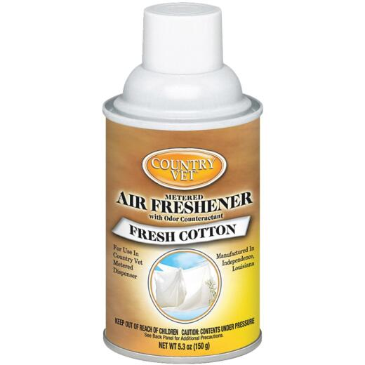 Country Vet 6.6 Oz. Fresh Cotton Fragrance Metered Spray Refill