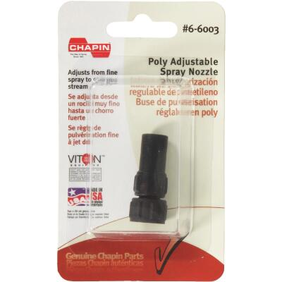 Chapin Adjustable Poly Nozzle
