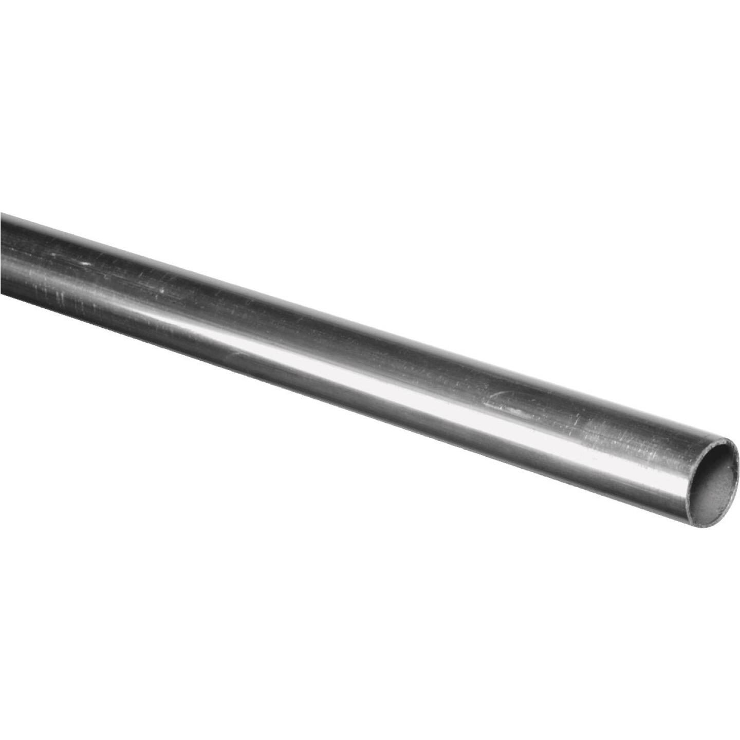 HILLMAN Steelworks Aluminum 7/8 In. O.D. x 4 Ft. Round Tube Stock Image 1