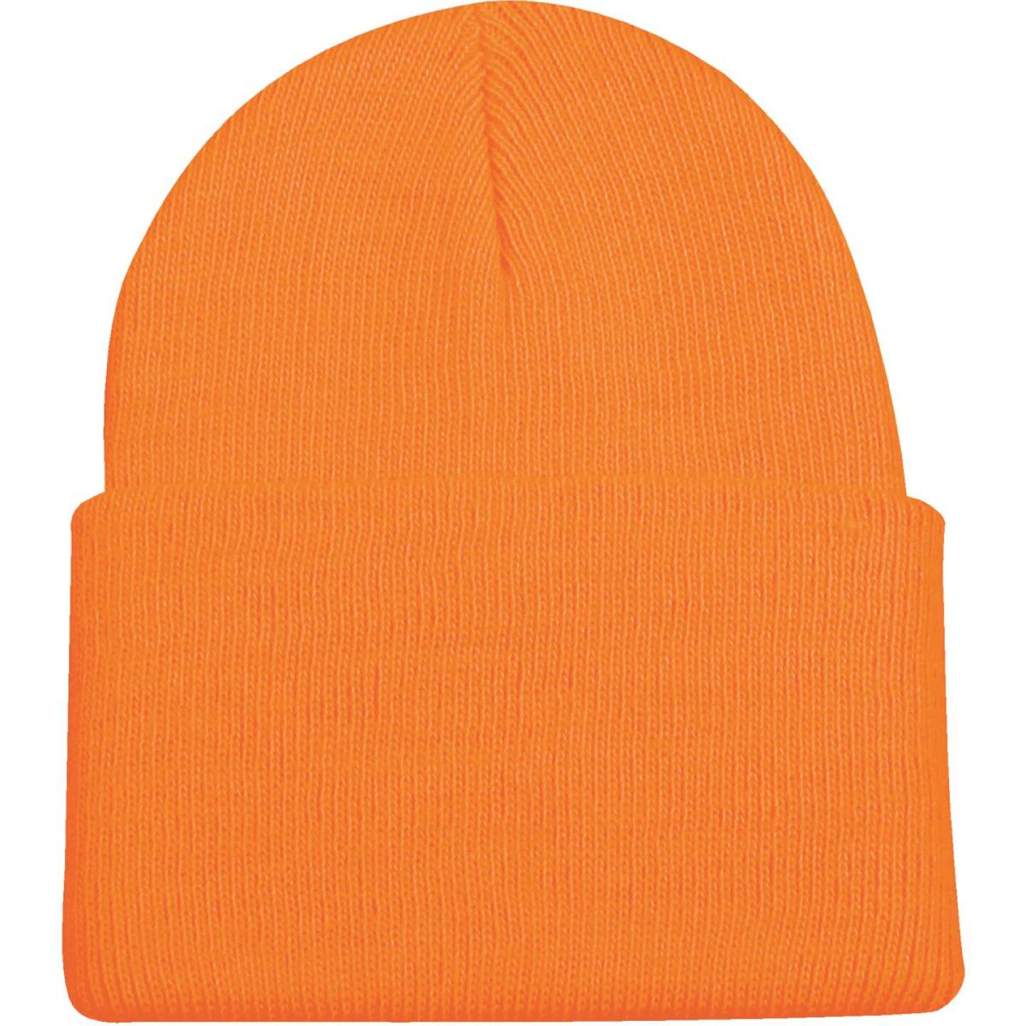 Outdoor Cap Blaze Orange Cuffed Sock Cap Image 2