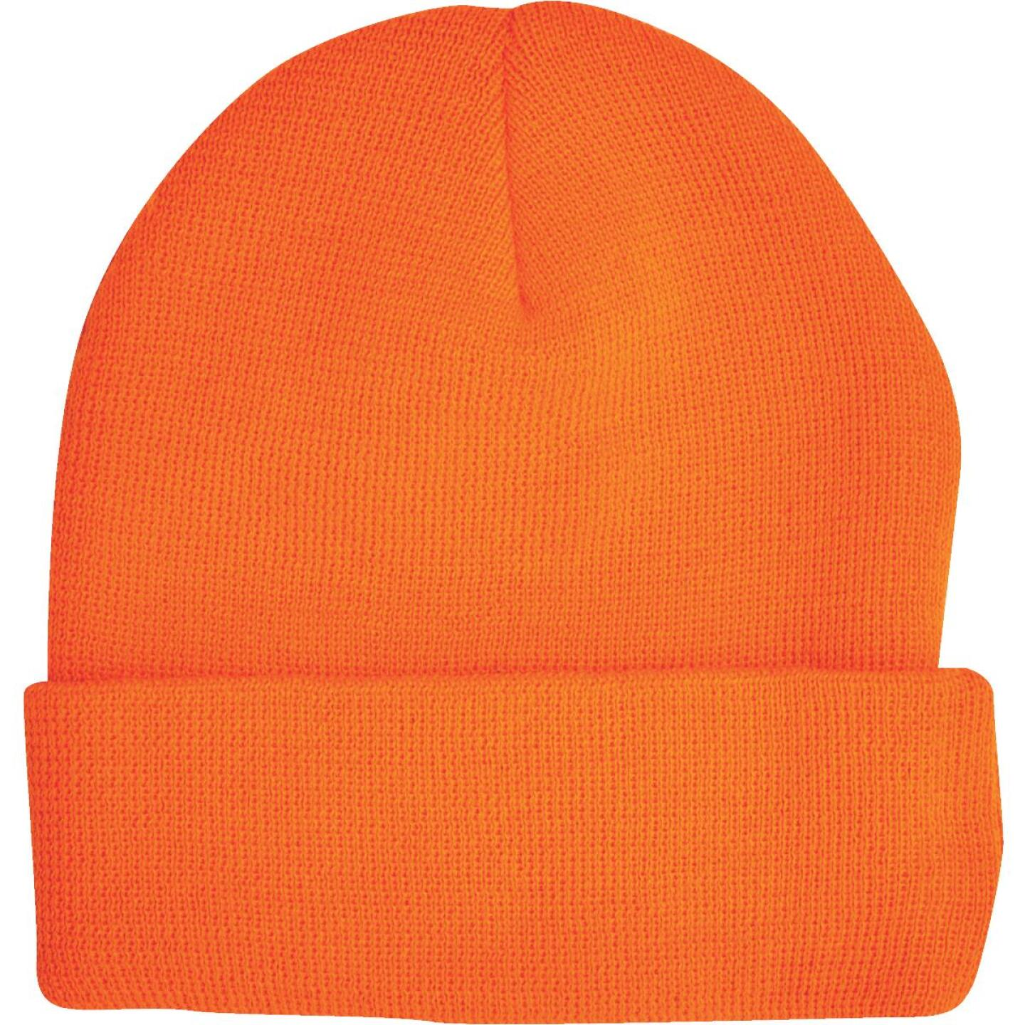 Outdoor Cap Blaze Orange Cuffed Sock Cap Image 3