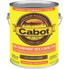 Cabot Semi-Transparent Deck & Siding Exterior Stain, Cordovan Brown, 1 Gal. Image 1