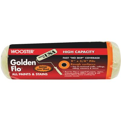 Wooster Golden Flo 9 In. x 3/4 In. Knit Fabric Roller Cover