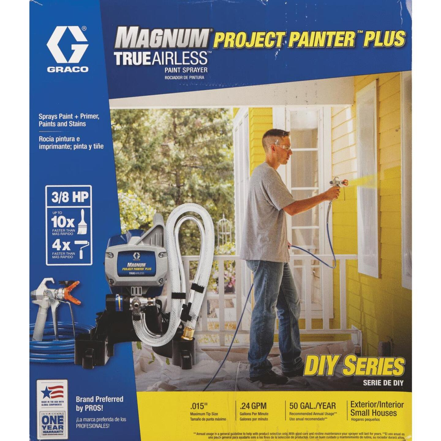 Graco Magnum Project Painter Plus Airless Paint Sprayer Image 2