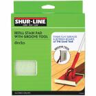 Shur-Line 6.8 In. Replacement Paint Deck Pad Image 1