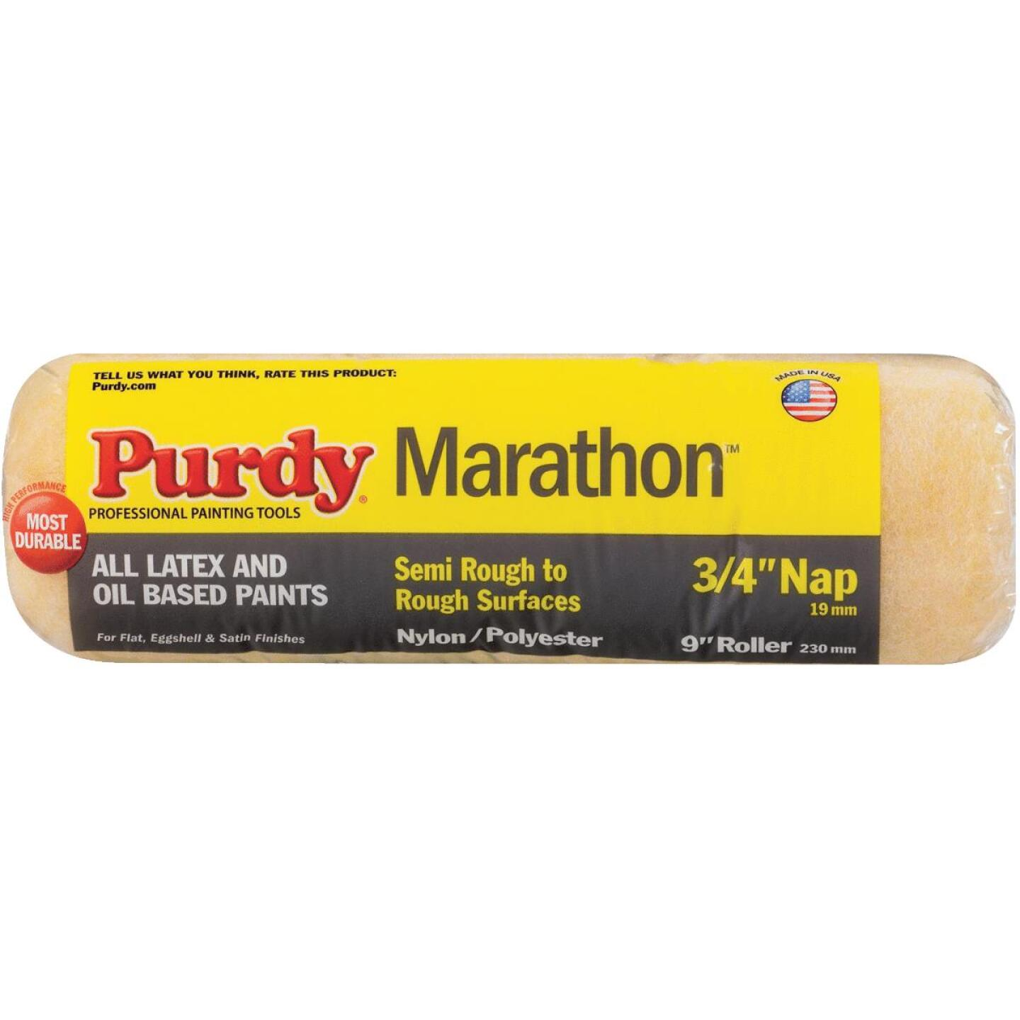 Purdy Marathon 9 In. x 3/4 In. Knit Fabric Roller Cover Image 1
