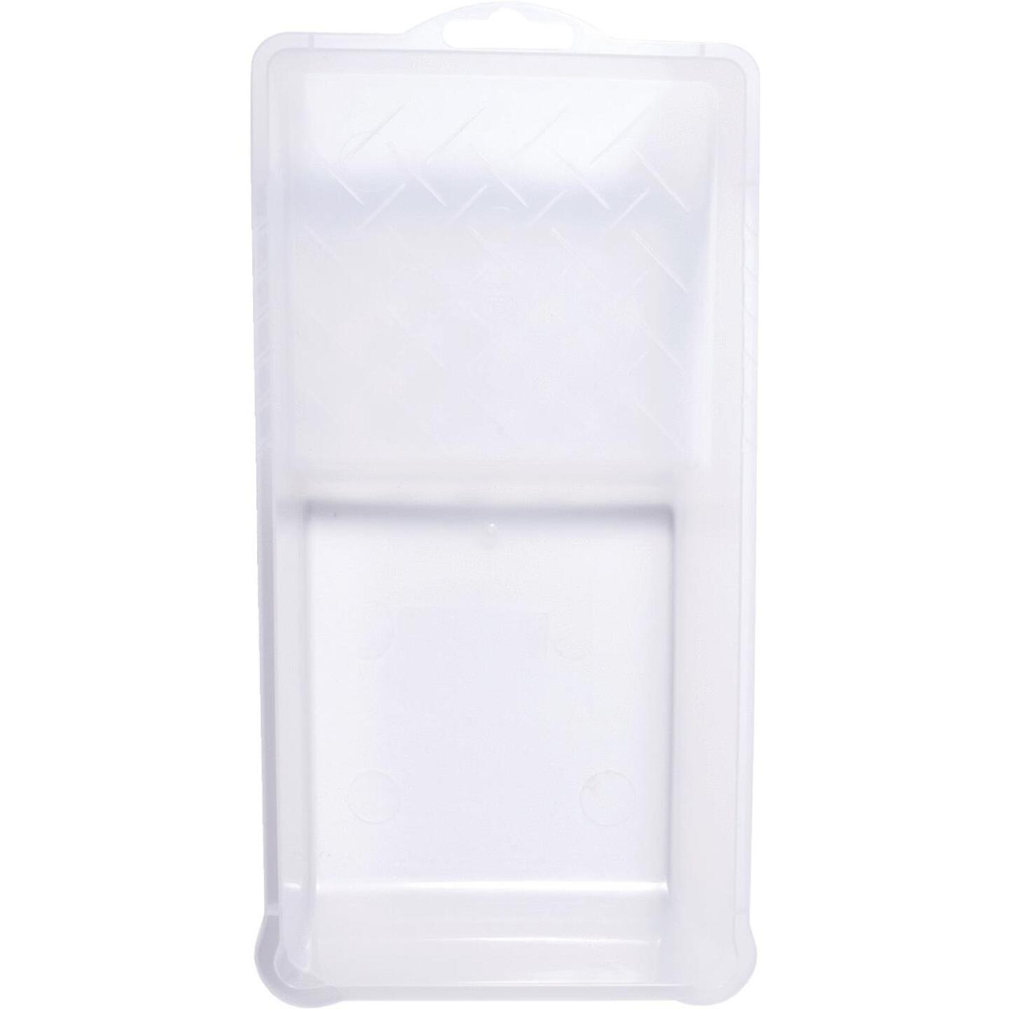 Whizz 6 In. x 11 In. Clear Solvent-Resistant Paint Tray Image 1