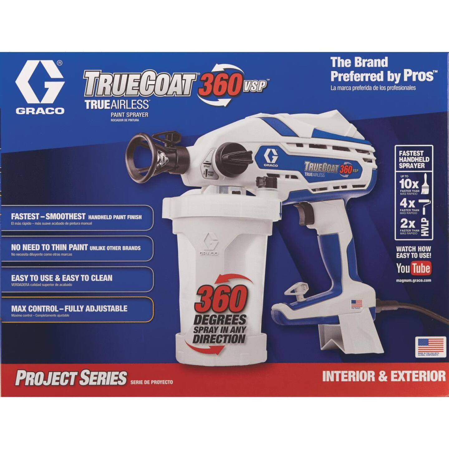 Graco TrueCoat 360 VSP Electric Airless Paint Sprayer Image 3