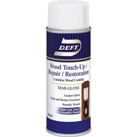 Deft VOC Compliant 12.25 Oz. Semi-Gloss Clear Wood Finish Interior Spray Lacquer