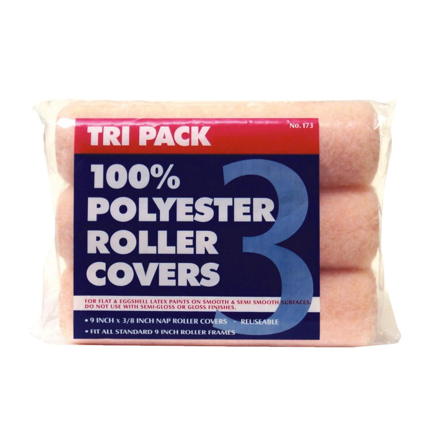 Premier 9 In. x 3/8 In. Polyester Knit Fabric Roller Cover (3-Pack) Image 1