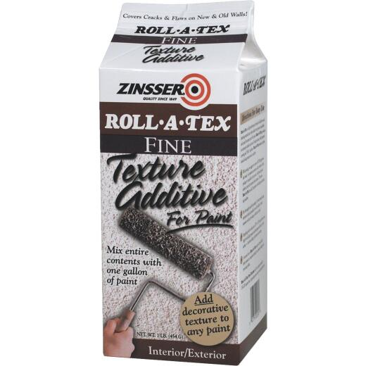 Zinsser Roll-A-Tex Fine Texture Additive, 1 Lb.