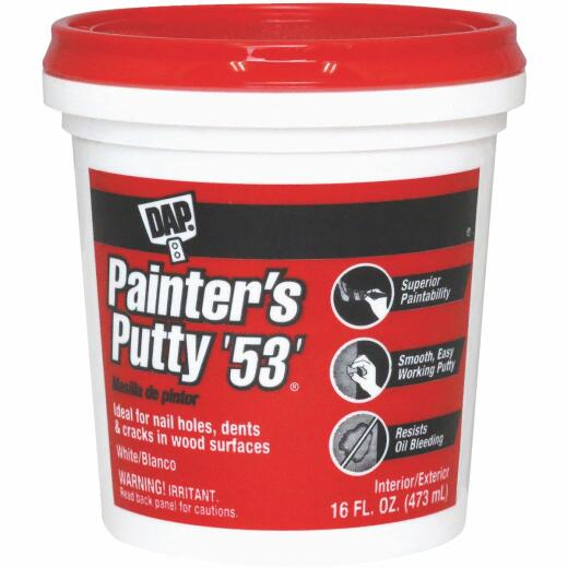 DAP Painter's Putty '53', 16 Oz.