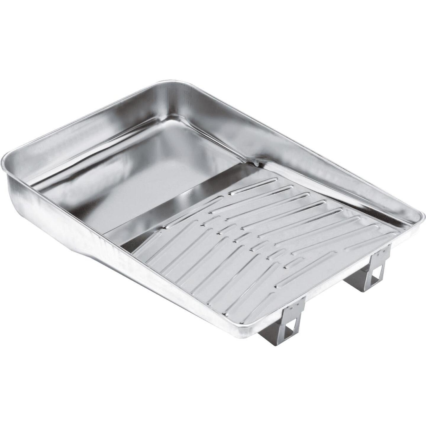 Wooster Deluxe 11 In. Metal Paint Tray Image 1