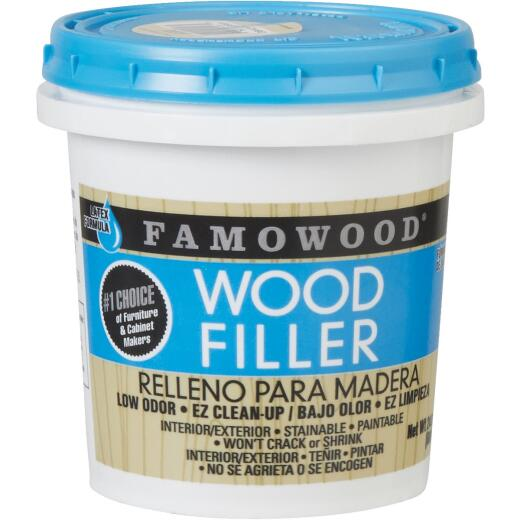 FAMOWOOD Natural  24 Oz. Wood Filler