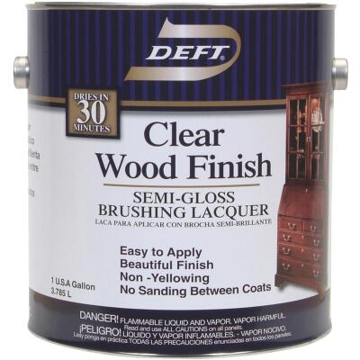 Deft Semi-Gloss Gallon 400 Sq. Ft./Gal. Lacquer
