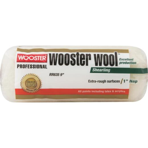 Wooster Wool 9 In. x 1 In. Lambskin Paint Roller Cover