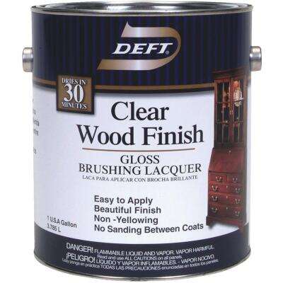 Deft Gloss Gallon 400 Sq. Ft./Gal. Lacquer