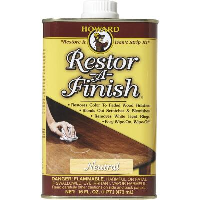 Howard Restor-A-Finish 16 Oz. Neutral Wood Finish Restorer
