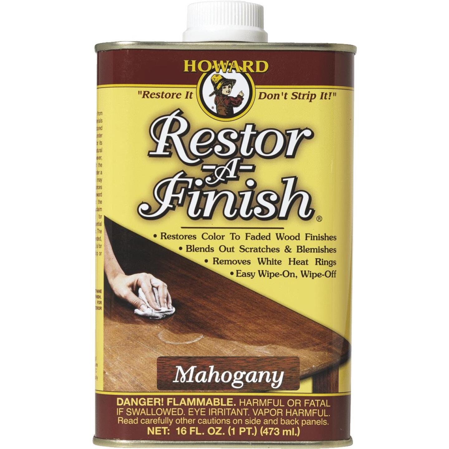 Howard Restor-A-Finish 16 Oz. Mahogany Wood Finish Restorer Image 1