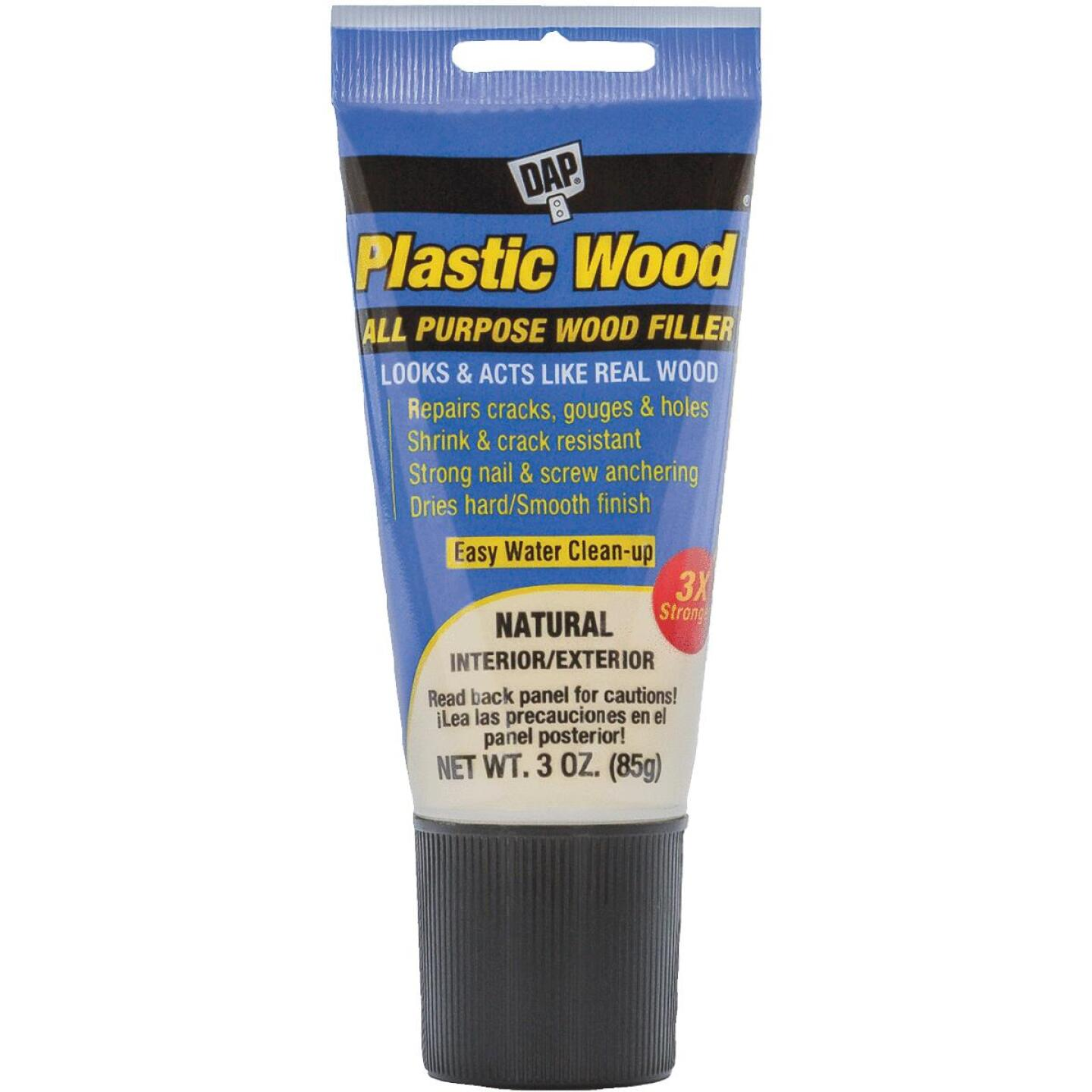 Dap Plastic Wood 3 Oz. Natural All Purpose Wood Filler Image 1