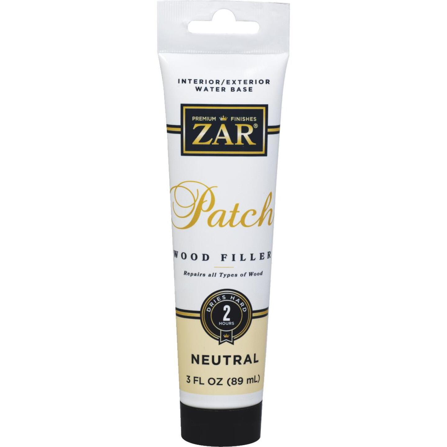 ZAR Neutral 3 Oz. Latex Wood Filler Image 1