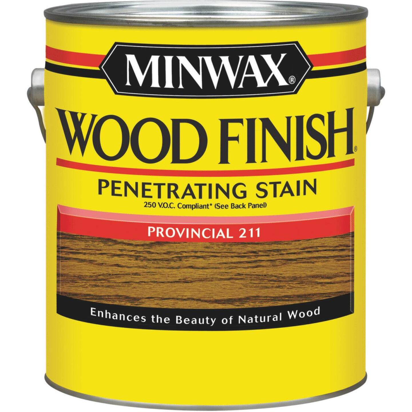 Minwax Wood Finish VOC Penetrating Stain, Provincial, 1 Gal. Image 1
