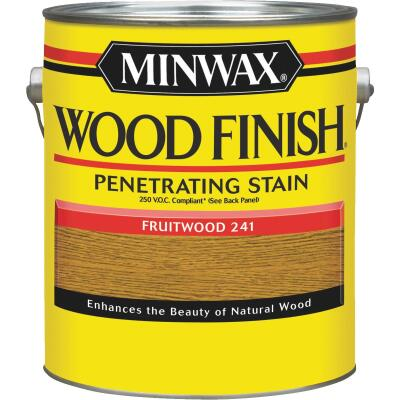 Minwax Wood Finish VOC Penetrating Stain, Fruitwood, 1 Gal.