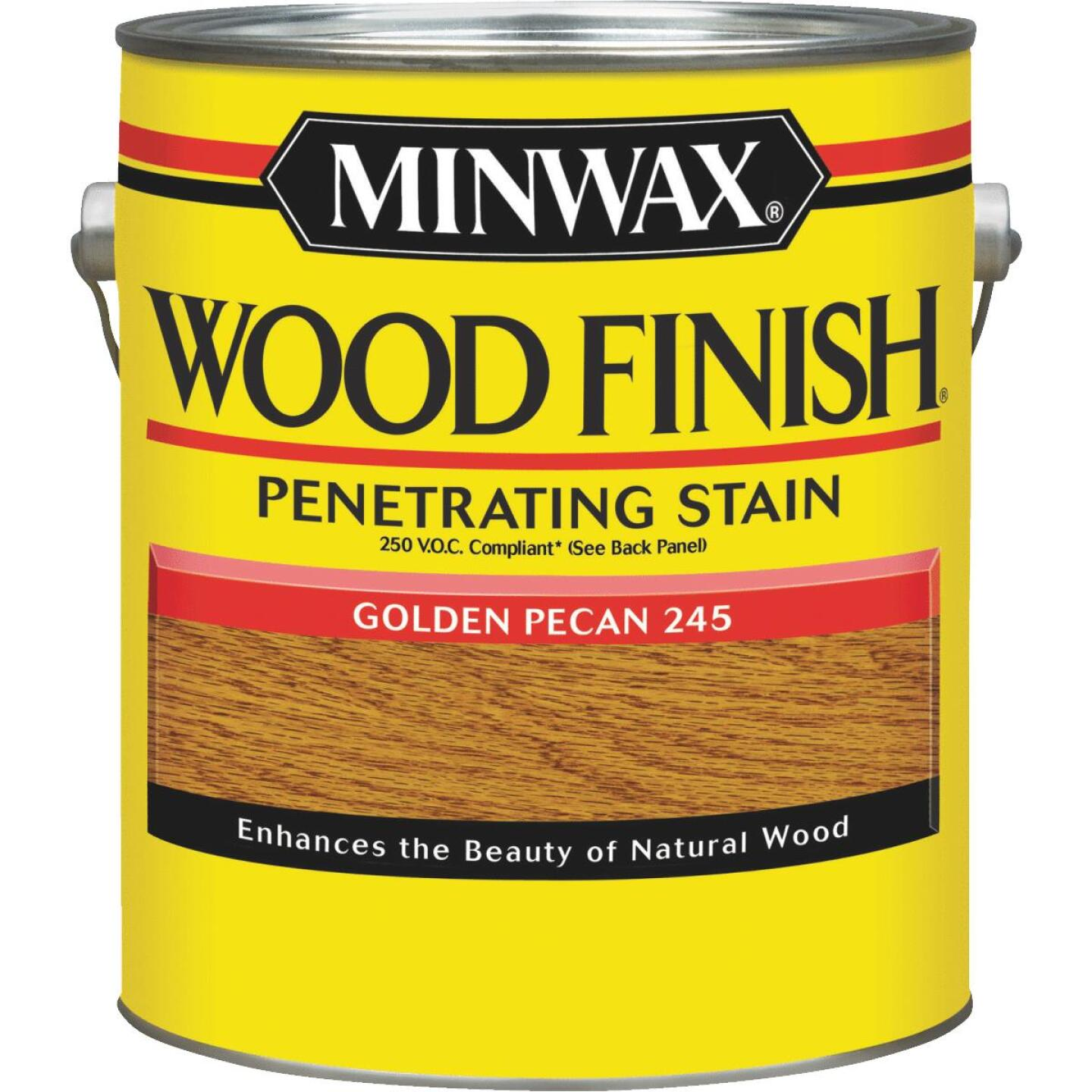 Minwax Wood Finish VOC Penetrating Stain, Golden Pecan, 1 Gal. Image 1