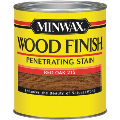 Minwax Wood Finish Penetrating Stain, Red Oak, 1/2 Pt.
