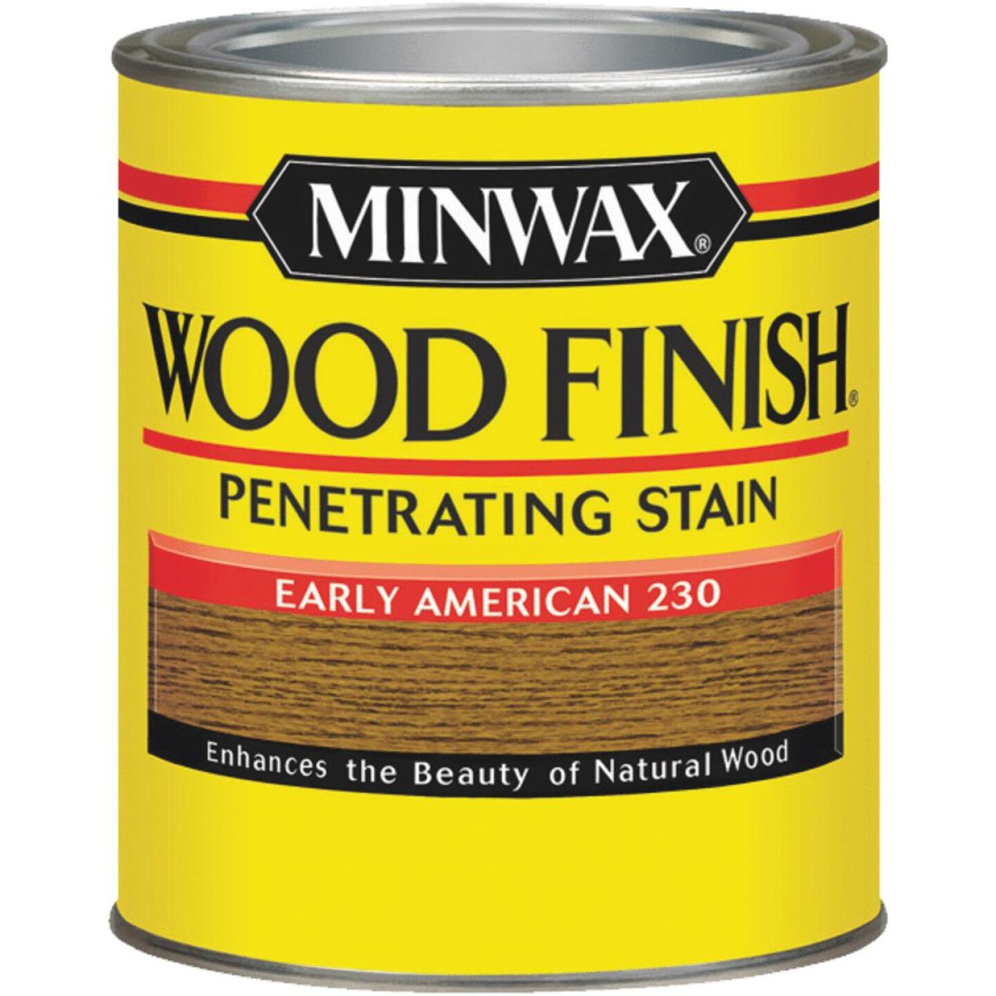 Minwax Wood Finish Penetrating Stain, Early American, 1/2 Pt. Image 1