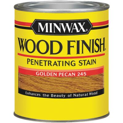 Minwax Wood Finish Penetrating Stain, Golden Pecan, 1/2 Pt.