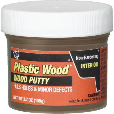 DAP Plastic Wood 3.7 Oz. Light Walnut Wood Putty