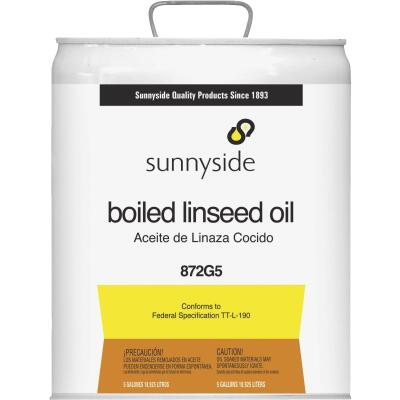 Sunnyside Boiled Linseed Oil, 5 Gal.