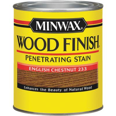 Minwax Wood Finish Penetrating Stain, English Chestnut, 1 Qt.