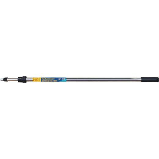 Premier 6 Ft. To 12 Ft. Telescoping Stainless Steel External Twist Extension Pole