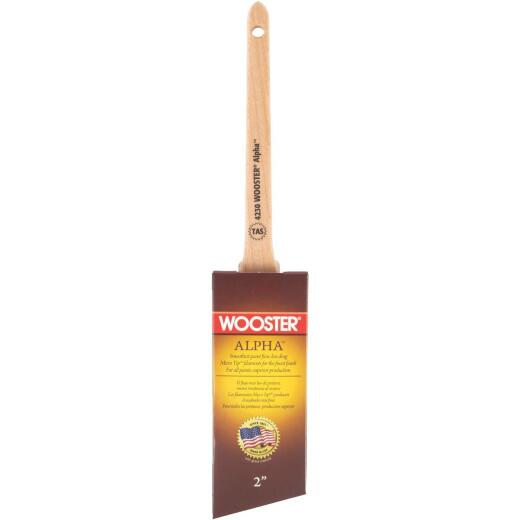 Wooster Alpha 2 In. Thin Angle Sash Paint Brush