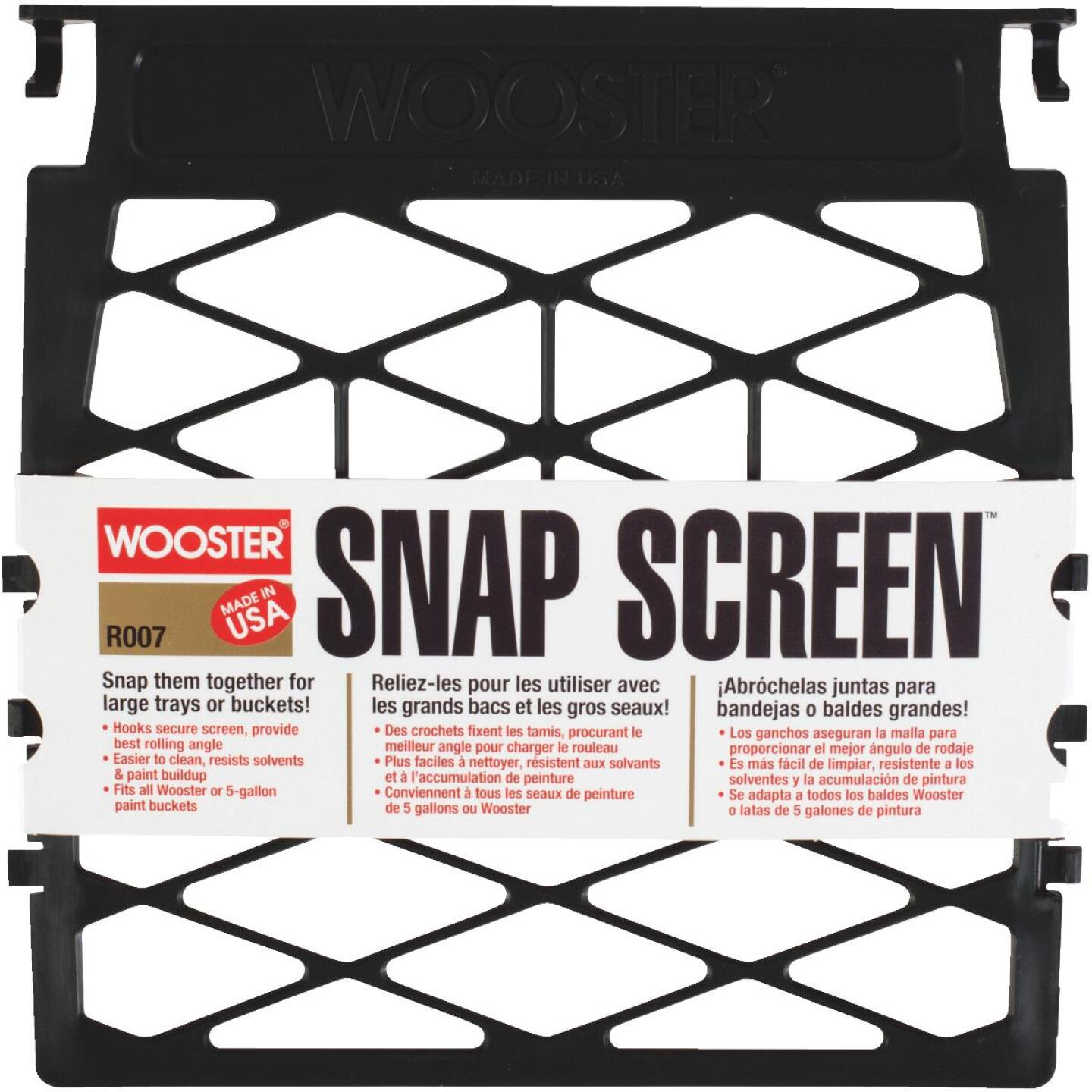 Wooster Snap Screen Paint Roller Grid Image 1