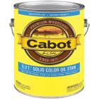 Cabot O.V.T. Solid Color Oil Exterior Stain, Deep Base, 1 Gal. Image 1