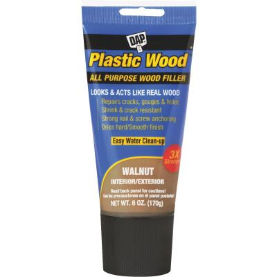 Dap Plastic Wood 6 Oz. Walnut All Purpose Wood Filler