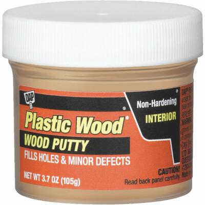 DAP Plastic Wood 3.7 Oz. Pickled Oak Wood Putty