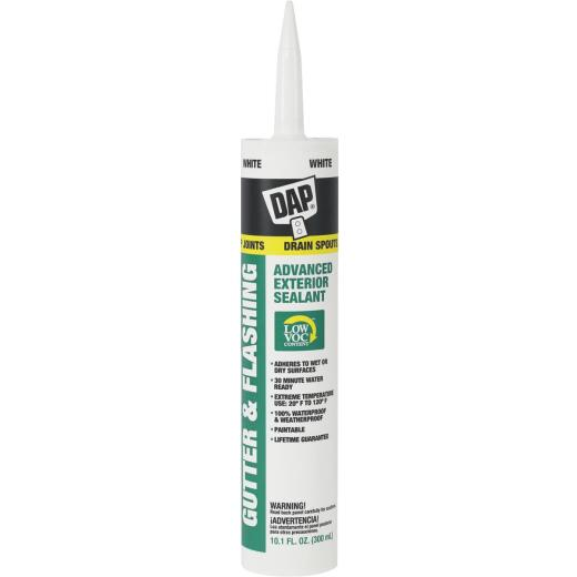 DAP 10.1 Oz. Advanced VOC-Compliant Exterior Gutter & Flashing Sealant