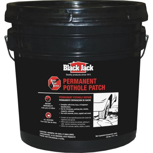 Black Jack Ready Road Repair 40 Lb. Permanent Pothole Patch