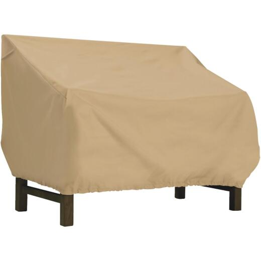 Classic Accessories 32 In. W. x 31 In. H. x 87 In. L. Tan Polyester/PVC Bench/Glider Cover