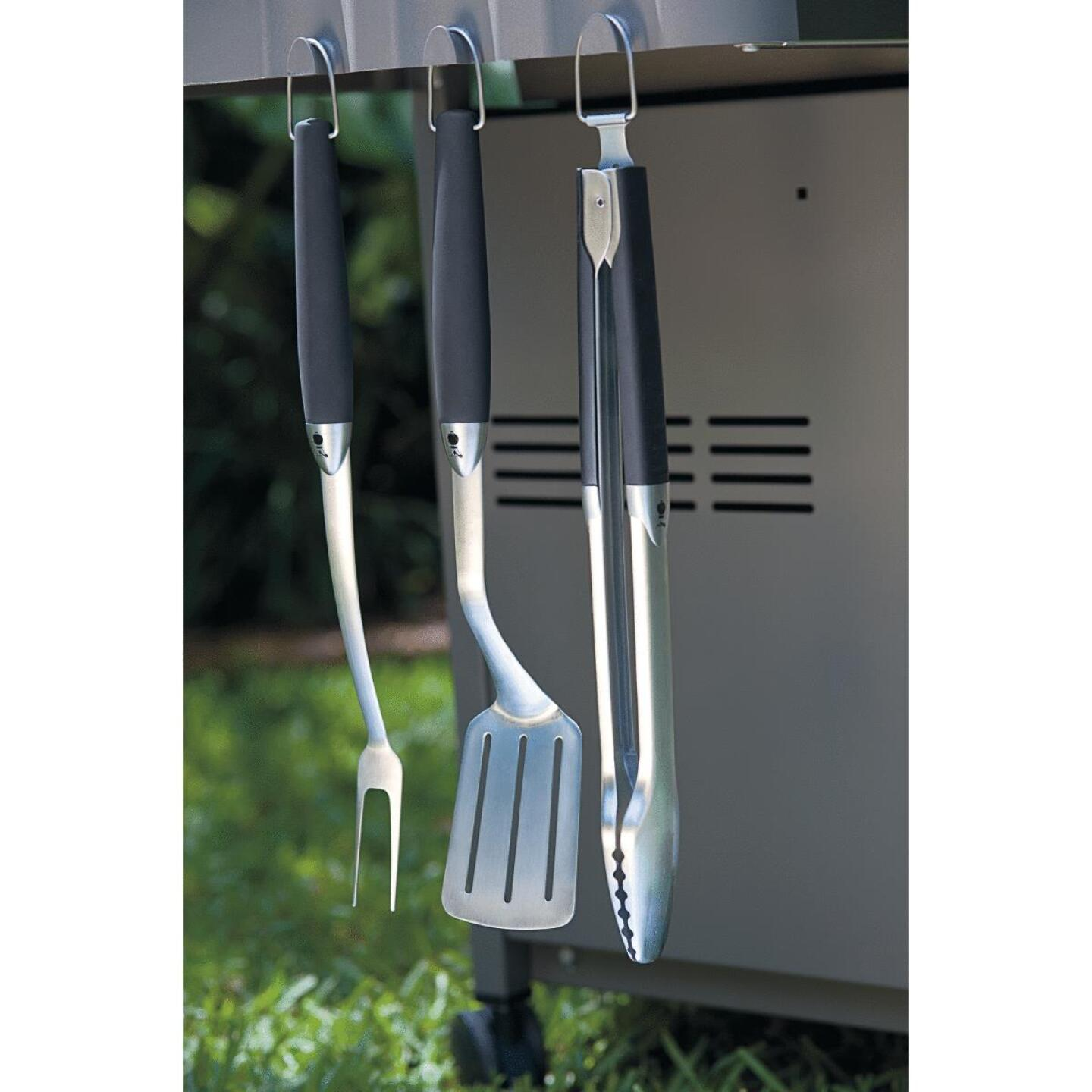 Weber Stainless Steel 3-Piece Barbeque Tool Set Image 4
