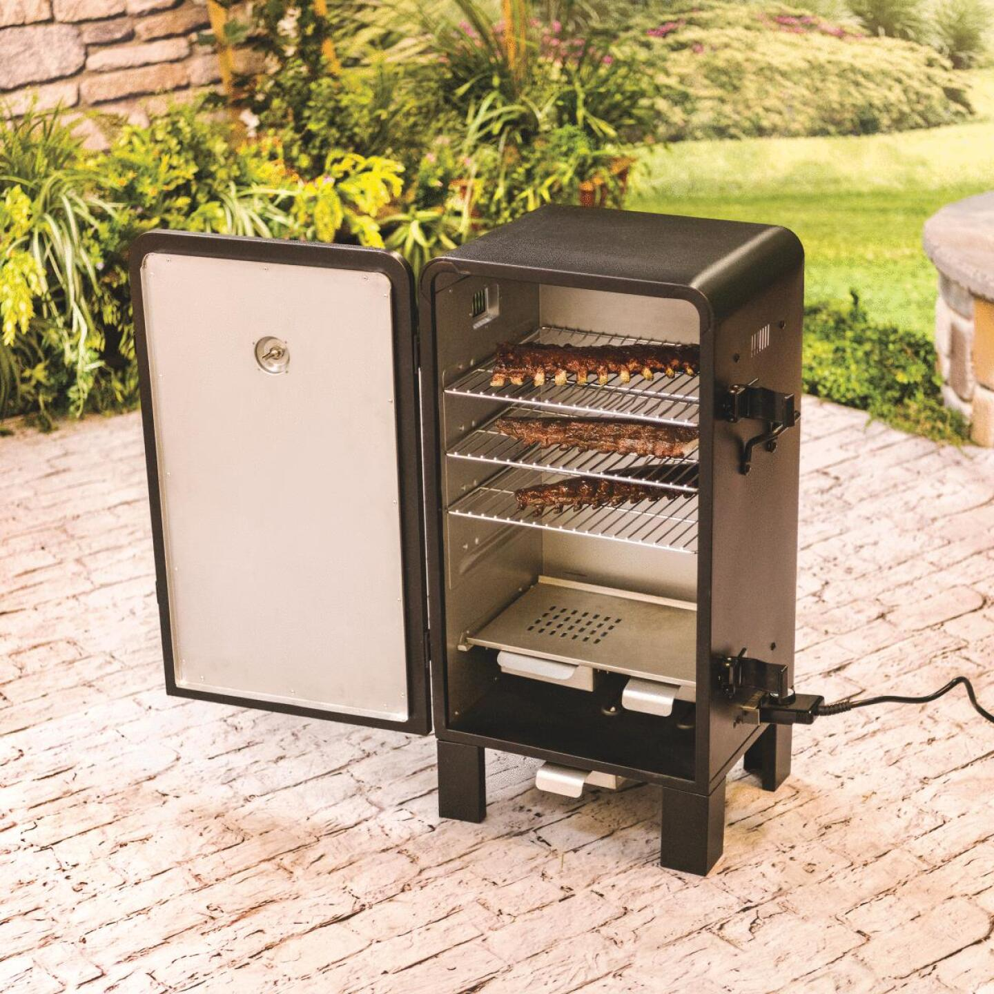 Char-Broil 37 In. H. 1500-Watt Vertical Electric Smoker Image 3