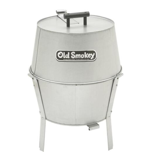 Old Smokey Classic 18 In. Dia. Silver Charcoal Grill